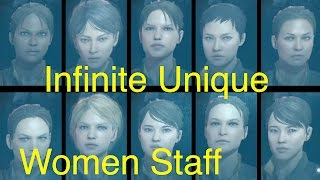 getlinkyoutube.com-MGSV: Phantom Pain - Unlimited Unique Female Staff (Metal Gear Solid 5 Secrets: Part 60)