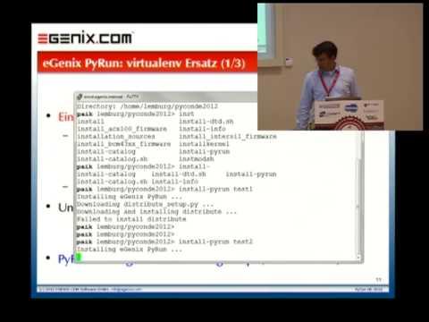 Image from eGenix PyRun - Python Laufzeitumgebung in einer Datei