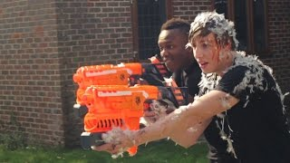 getlinkyoutube.com-EPIC SIDEMEN NERF BATTLE