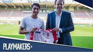 Omar Govea anota en la victoria del Mouscron vs Eupen