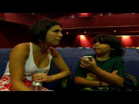 Alvinho San entrevistando Fernanda Paes Leme