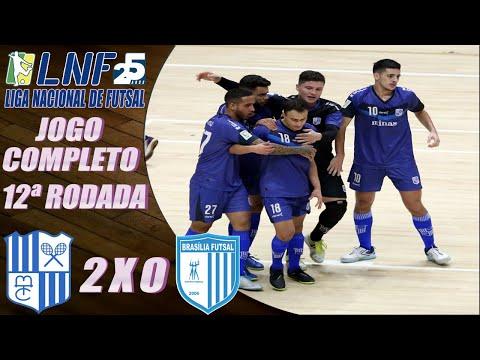 JOGO COMPLETO: Minas 2 x 0 Brasília Futsal – 12ª Rodada LNF 2020 (13/10/2020)