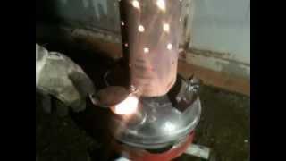 waste oil stove