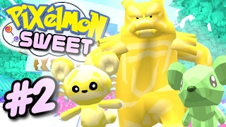 Pixelmon SWEET - GUMMY BEAR POKEMON! (Minecraft Pixelmon 5.0 Roleplay) #2