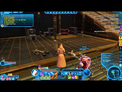 """Star Wars The Old Republic"" Jedi Sentinel HD Walkthrough Playthrough: Part 046 ""Nar Shaddaa"" 4"
