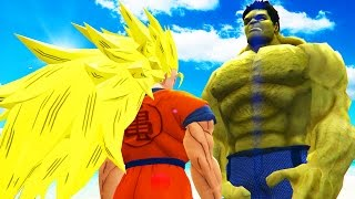 getlinkyoutube.com-GOKU vs HULK - Epic Battle