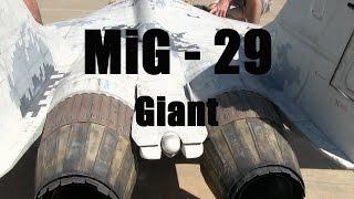 getlinkyoutube.com-RC Jet Twin Turbine Scale MiG-29 Airplane