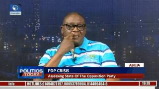 Politics Today: Dayo Adeyeye Blames Ruling Party For Crisis In PDP