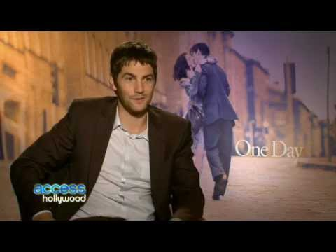 Access Hollywood Jim Sturgess talks about ONE DAY