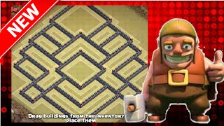 """getlinkyoutube.com-The BEST Town Hall 10 War Base   Anti-EVERYTHING    """"The Fortress""""   Clash Of Clans"""
