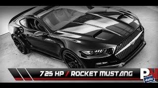 getlinkyoutube.com-The 725HP Coyote V8 Galpin Fisker Mustang Rocket