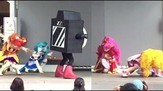 getlinkyoutube.com-Go!プリンセスプリキュアショー ステラモール 2015/8/15 Go princess precure show
