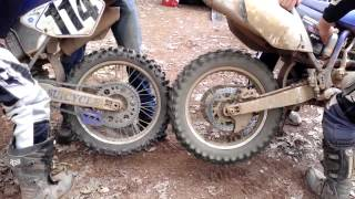 How to bump start or push start a motorcycle mx dirt bike
