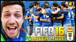 getlinkyoutube.com-Real Oviedo Career Mode #1 - WE'RE BACK!!! - Fifa 16