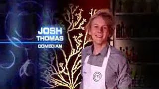 getlinkyoutube.com-Josh Thomas on 'Celebrity Masterchef Australia' (2009)