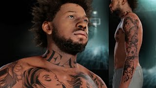 getlinkyoutube.com-NBA 2k16 My Career Gameplay Ep. 6 - Customized Tattoos on Bridges! How to Edit/Blend Tattoos