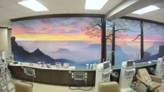 getlinkyoutube.com-Grand Canyon Mural Time-lapse