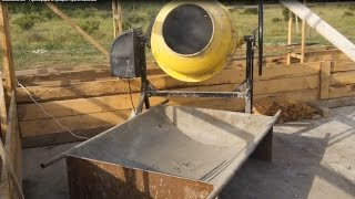 getlinkyoutube.com-Опилкобетон 4 - Пропорции и процесс приготовления. Sawdust-concrete, composition.