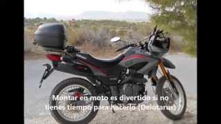 getlinkyoutube.com-Son diez mil: 10.000 km a bordo de una Keeway TX 125 S