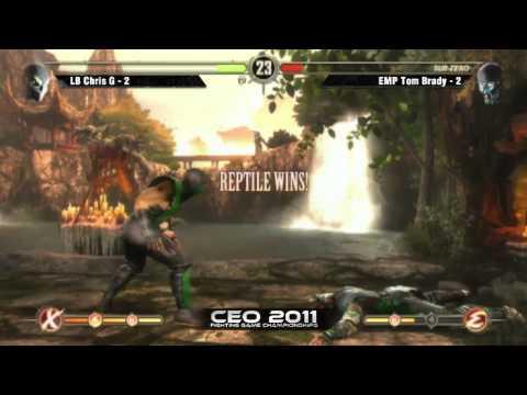 LB Chris G vs EMP Tom Brady CEO 2011 Mortal Kombat 9 Singles Grand Finals