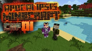 getlinkyoutube.com-EL COMIENZO DE ALGO EPICO | #APOCALIPSISMINECRAFT | EPISODIO 1 | WILLYREX Y VEGETTA