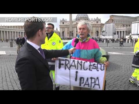 Pilgrim prophesied Pope's choice pick Francis as name