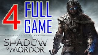 Middle Earth Shadow of Mordor Walkthrough Part 4 PS4 Gameplay lets play playthrough - No Commentary