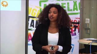 RCV - Jenny Saba Person håller en introduktion till Antiziganism – en svensk historia