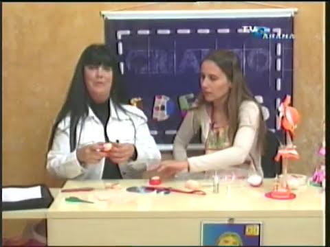 Bonecas em E.V.A com Marlene Gomes Ferreira - Parte 1