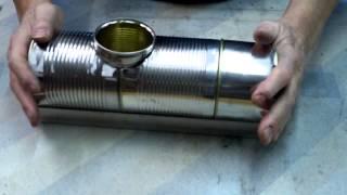 getlinkyoutube.com-Pellet burner experiment Part 1