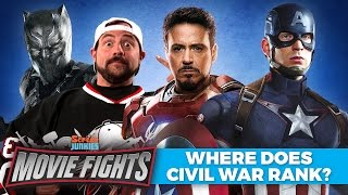 Where Does Civil War Rank In The MCU? (w/ Kevin Smith!)   MOVIE FIGHTS!!