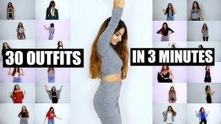 getlinkyoutube.com-DANCING 30 Outfits in 3 MINUTES