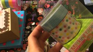 Planner and Stationery HAUL: DAISO