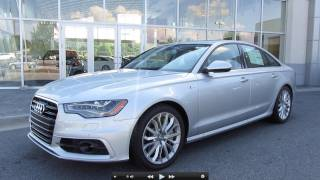 getlinkyoutube.com-2012 Audi A6 3.0T Prestige Start Up, Exhaust, and In Depth Tour