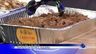 Jairo Navarro de Felipe's Taquería nos visita para presentarnos unos deliciosos tacos