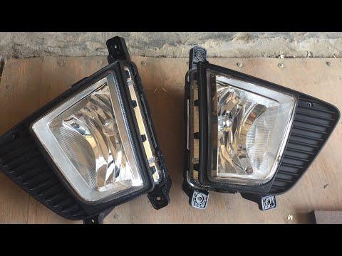 Установка ПТФ на Хендай Крета со снятием бампера
