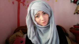 getlinkyoutube.com-Hijab style without inner cap ❤