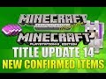 "Minecraft Xbox 360 & PS3: ""Title Update 14"" New Confirmed Items & More (TU14 DISCUSSION!)"