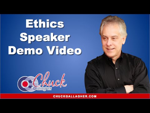 Business Ethics Speaker Chuck Gallagher