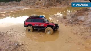 getlinkyoutube.com-N9 RC Crawler - Pajero Wagon Mudding