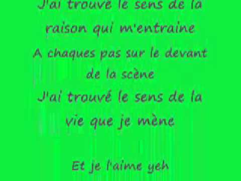 Tal - le sens de la vie + Paroles -Zc456obxAE8