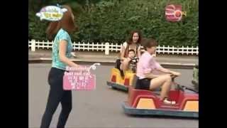 getlinkyoutube.com-Girls' Generation (SNSD) Riding Go Carts [Eng Subs]