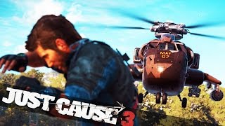 getlinkyoutube.com-EPIC HELICOPTER CHASE! :: Just Cause 3 Campaign Funny Epic Moments
