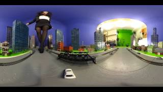 Jackie Stevens 360VR Giantess Test