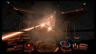 getlinkyoutube.com-Elite Dangerous: Federal Assault Ship vs Fer de Lance