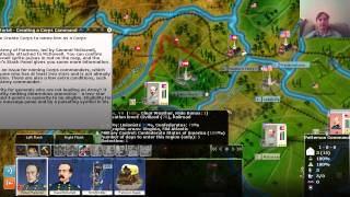 getlinkyoutube.com-AGEOD's Civil War 2 - Tutorial: Army, Corps and Division Command