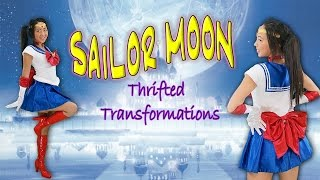 getlinkyoutube.com-Thrifted Transformations | Ep. 10 (DIY Sailor Moon Costume)