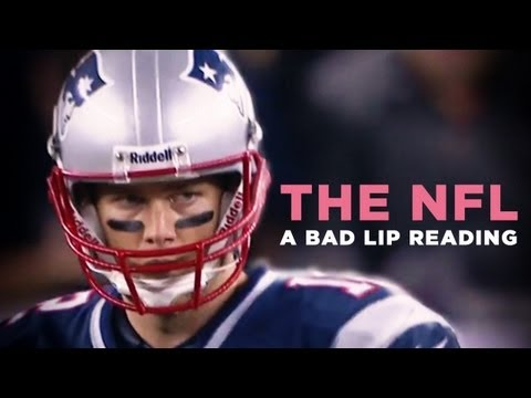"""""""THE NFL : A Bad Lip Reading"""" — A Bad Lip Reading of the NFL"""