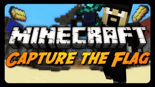 Minecraft: UNSTOPPABLE TEAM! (Capture the Flag)