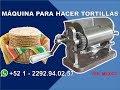 Maquina para hacer tortillas - Grupo Halley